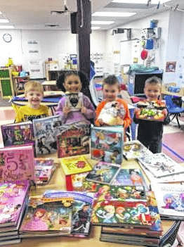 The Fayette County Early Learning Center was selected by The Molina Foundation to receive a grant of 4,000 new children's books.