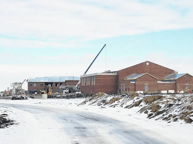 An update was made available Feb. 1 on the Miami Trace Local Schools website to inform the community of the progress made on the new high school building.