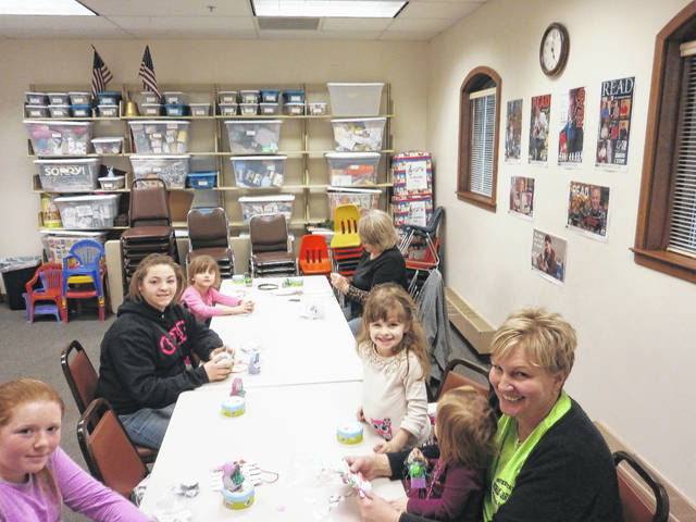 "Jeffersonville Branch Library was the place to be to let creativity show at the ""Easter Crafternoon"" held recently."