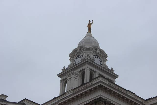 Restoration of the historic clock at the Fayette County courthouse is underway and expected to last for several months, officials said.