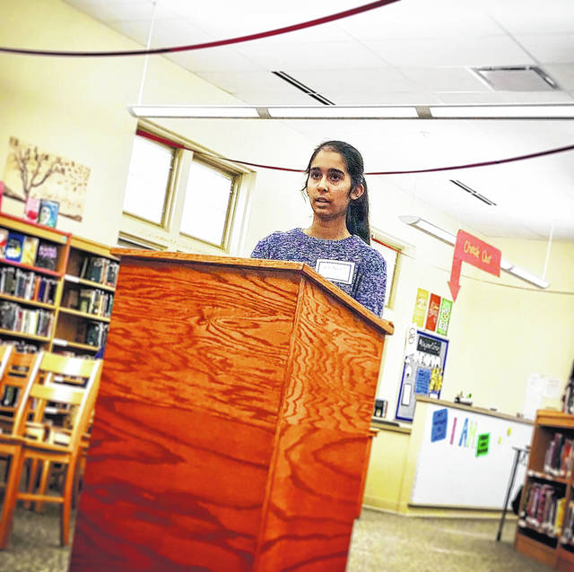 This Saturday, Washington Middle School student Navneet Kaur is competing at the Regional Spelling Bee in hopes to qualify for the Scripps National Spelling Bee in Washington DC.