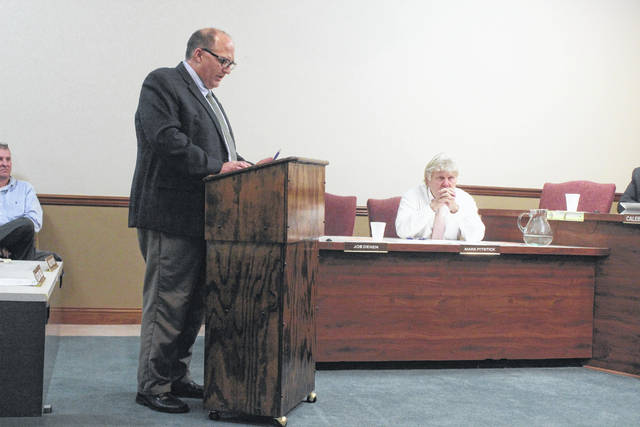 "Washington Court House City Manager Joe Denen spoke to city council Wednesday with the ""State of the City"" address."