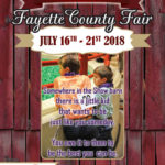 2018 Fayette County Fair Book