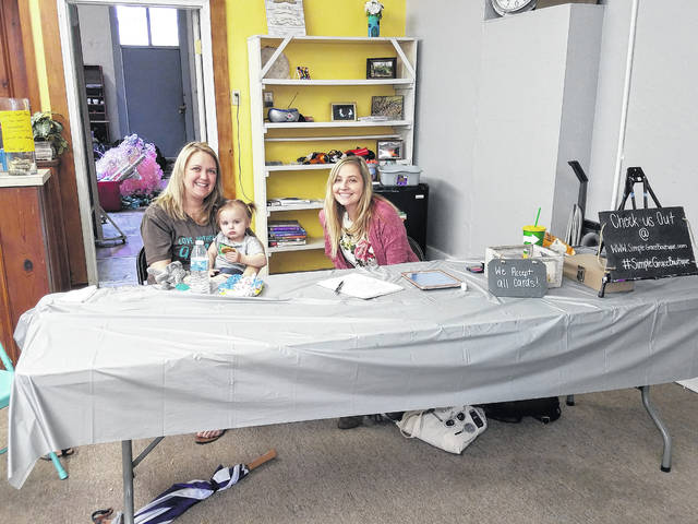 The third-annual Chocolate Walk was held on Saturday with 26 downtown businesses taking part in the festivities. At Creative Court House, Simple Grace Boutique was on hand to sell a handful of clothing items throughout the afternoon.