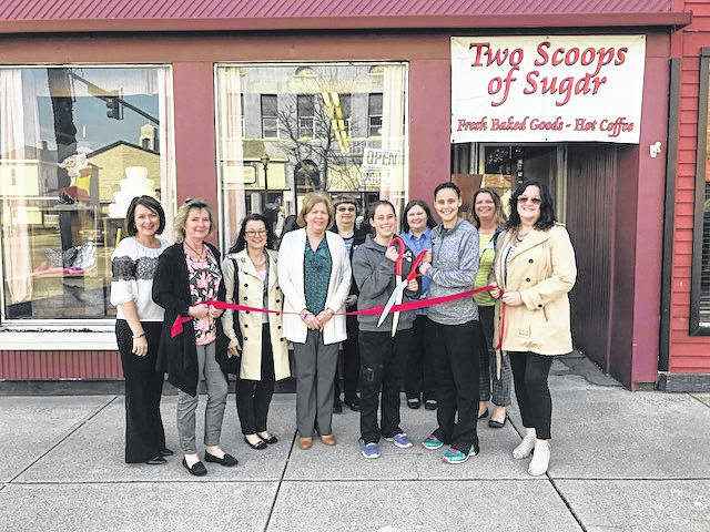 The Fayette County Chamber of Commerce is pleased to welcome back to membership, Two Scoops of Sugar! Twin sisters, Joan West and Jill Barry, opened Two Scoops in September 2014. Offering all sorts of tasty treats from scones to custom cakes, pies, cream bread and even homemade donuts, they won't let you go thirsty, either! Coffee, espresso, lattes and teas are available in a large variety of flavors. Be sure to visit them at 249 E. Court St. in Washington C.H. or call 740-606-2788.