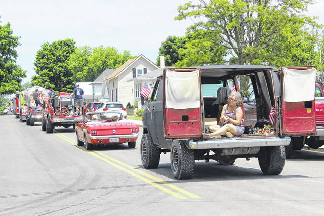 The Village of New Holland held its annual Memorial Day parade and program on Monday afternoon.