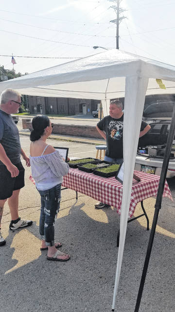 Nidays Microgreens is open at the Saturday Fayette County Farmers' Market.