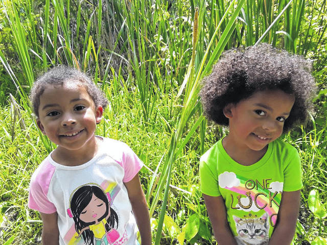Sophia and Alexia attended Preschool Storytime at the Shaw Wetlands before Discovery Camp.