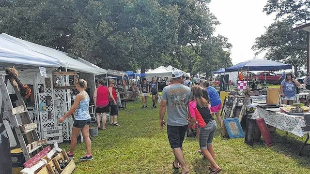 A craft sale will be held Aug. 4 and 5. Pictured here, crowds enjoy the 2016 sale.