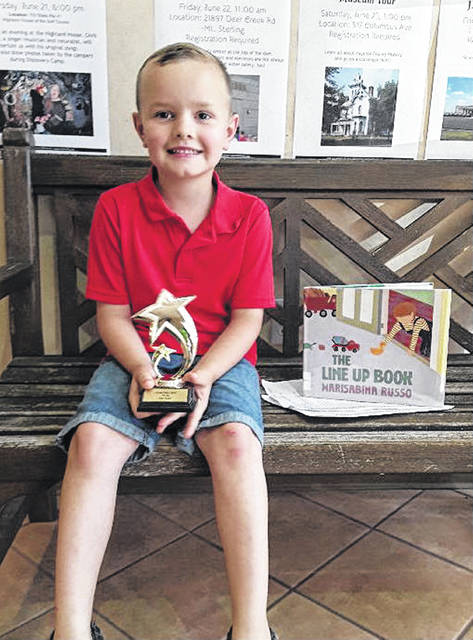 "Will Vernon is the newest member of Carnegie Public Library's ""100 Club."""