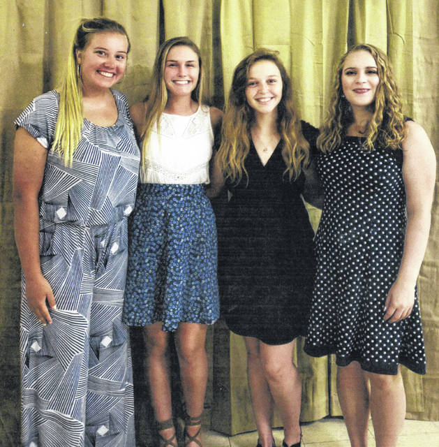 The 72nd-annual American Legion Auxiliary Buckeye Girls State session ended on Saturday, June 16 with several ladies from Fayette County attending. Pictured (L to R): Khenadi Grubb, Tori Evans, Hailey Snyder and Taylor Smith.