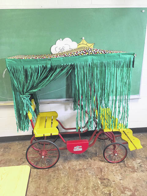 Decoration in a preschool classroom at Fayette Christian.