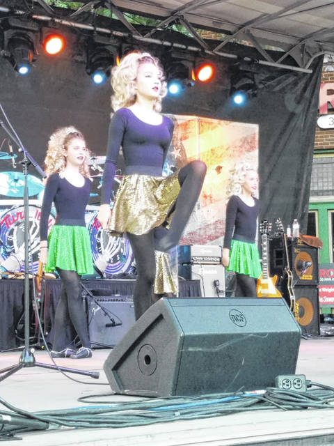 Residents came out Friday evening for the first night of the 2018 Scarecrow Festival. One of the returning acts to the festival was Irish dancers from the Nugent School of Irish Dance who entertained the crowd with fancy footwork and traditional Irish music.