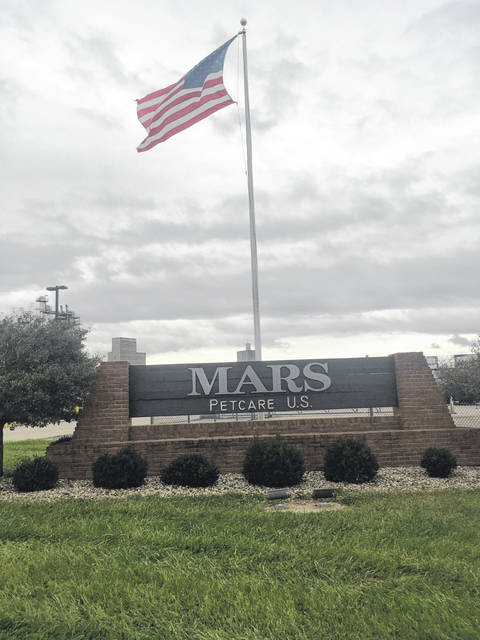 The Mars Petcare manufacturing plant at the industrial park in Washington C.H.