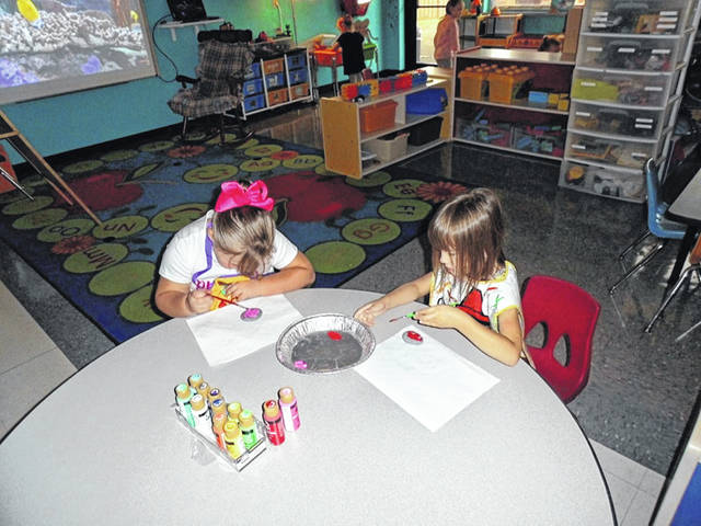 Hide and Seek is often a favorite childhood game and Fayette Progressive School has been creating a hide and seek game for the entire community! The preschoolers, Early Intervention kids, and staff have been painting rocks to hide in the community. When you find one of these painted rocks, go to the Fayette County Board of DD website at www.fayettedd.com to learn a little bit about the child or staff member who painted the rock. Fayette Progressive School has some amazing students who loved painting these rocks. Each is marked on the back as being one of Fayette Progressive School's rocks. Feel free to take a picture of yourself and post on our Facebook page a little about what you discovered. We hope you will join in the fun with this game of hide and seek with rocks and learn a little more about the services FCBDD provides. For more information about Fayette Progressive School, call 740-335-1391.