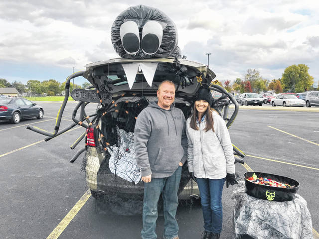 Participants in last year's Trunk or Treat event.