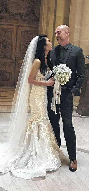 Mr. and Mrs. Suy Gnaum Choy and Mrs. Kathy (Robert) Everetts are pleased to announce the marriage of their children Lisa Land Choy and Joshua Lee Allen on Sept. 28, 2018 in San Francisco, Calif. After a honeymoon in Bali the couple will reside in Cupertino, Calif.