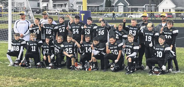 The Miami Trace Youth Football Program's Varsity Gold team completed the 2018 regular season undefeated at 7-0. They will play in the LOHC Super Bowl Saturday at 7 p.m. against Jackson at McClain High School in Greenfield.