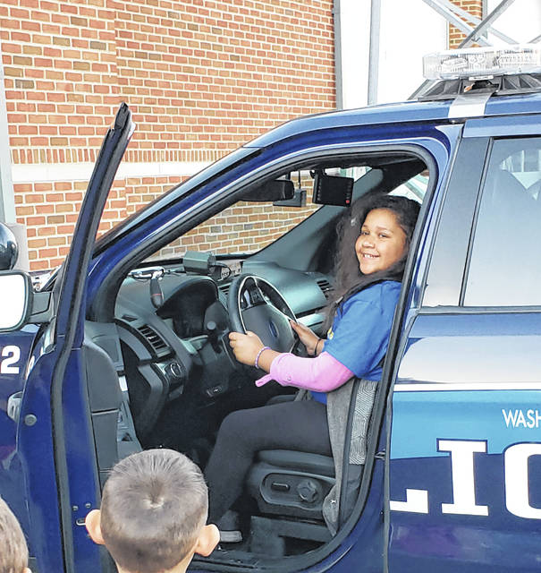 Amyah Arnold getting a WCH police officer's POV from a cruiser