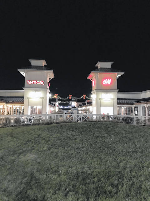 Tanger Outlets in Jeffersonville opened on Thanksgiving night at 6 p.m. and remained open through 10 p.m. on Black Friday.