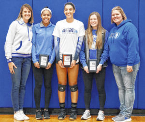 Lady Lions receive District volleyball honors