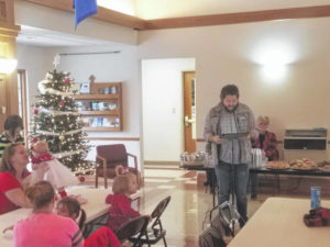 Pregnancy Center celebrates Christmas