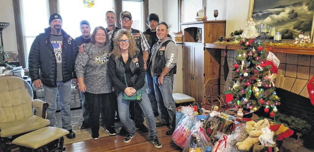 With help from the community, the VFW Riders recently brought Christmas joy to local charities. The Riders gave to the Red Brick House Homeless Shelter, five needy families, The Well at Sunnyside, Rose Ave., Fayette County Memorial Hospital, Greenfield Community Hospital, and Second Chance Center of Hope. They received over $4,000 to help these charities from local families, as well as community-driven organizations in Washington Court House. The VFW Riders thank all who donated and wish everyone a merry Christmas.