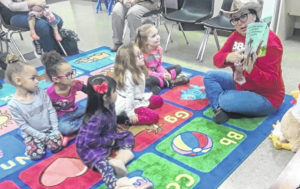 Children learn about 'BB and Betty' at Carnegie