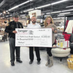 Tanger Outlets Jeffersonville donates to area sheriff, EMS, fire departments