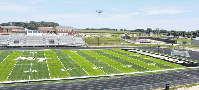 The Record-Herald took time this week to reflect on 2018 and the many news and sports stories from throughout the year. In the third part, the paper looks at July through September. In July, the new football field turf at Miami Trace High School was nearly complete. This photo is a look at the south half of the field on Thursday, July 12. Work continues on the new high school in the background and the entrance to the new school.