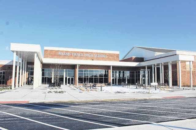 Miami Trace Local Schools held a Dedication Ceremony on Sunday for the new Miami Trace High School with various guests in attendance.