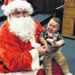 Winner of 'Scared of Santa' contest