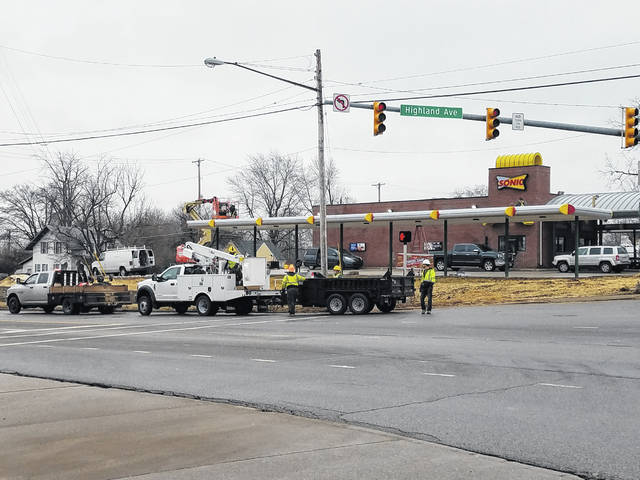 "Work continued Tuesday on the new Sonic Restaurant coming to Washington Court House. According to vice president of operations for the North Fork Restaurant Group, Selina Stanley, the goal is the open the restaurant next Tuesday, with a ""grand opening"" and ribbon cutting coming in mid-to-late March."