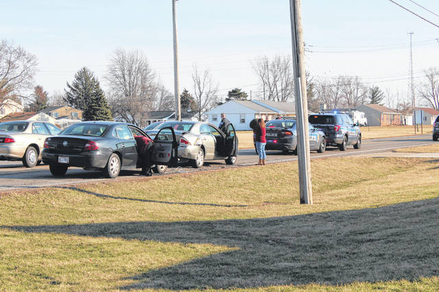 Two-car accident on State Route 41 S - The Record Herald