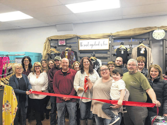 Boutique on Main was welcomed to Fayette County and Chamber of Commerce membership on Friday, Feb. 8. Located at 145 N. Main St. in Washington C.H., this new boutique offers clothing, accessories, shoes, home décor and custom shirts. Owners Lisa Faber and Ashley Fluent have created a unique boutique in the heart of Washington Court House where everyone is sure to find something special.