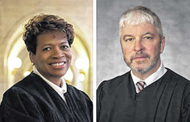 Ohio Supreme Court Justices Stewart and Donnelly