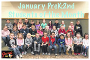 MTES names January Students of the Month