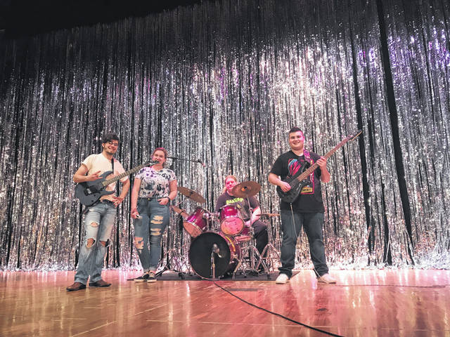 The former Kiwanis Teen Talent Show will go on as the Key Club Talent Show and organizers are encouraging Fayette County students in grades 9 through 12 to participate in the competition this year. Pictured is the band Krush, consisting of Craig Campbell, Shelbie Rowan, Daniel Everhart and Ethan Chace.