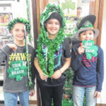 Locals celebrating St. Patrick's Day