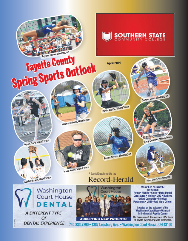 Spring Sports Outlook April 2019
