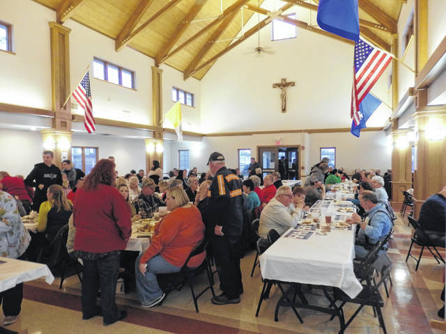 The St. Colman of Cloyne Catholic Church in Washington C.H. had six successful weeks hosting the Knights of Columbus Lenten Fish Fry. Food that was sold included pre-breaded fish-tails, fried Alaskan Pollock, baked Alaskan Pollock and several side dishes. Proceeds went toward funds for local groups.
