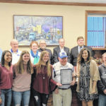 Lady Lions honored by WCH City Council