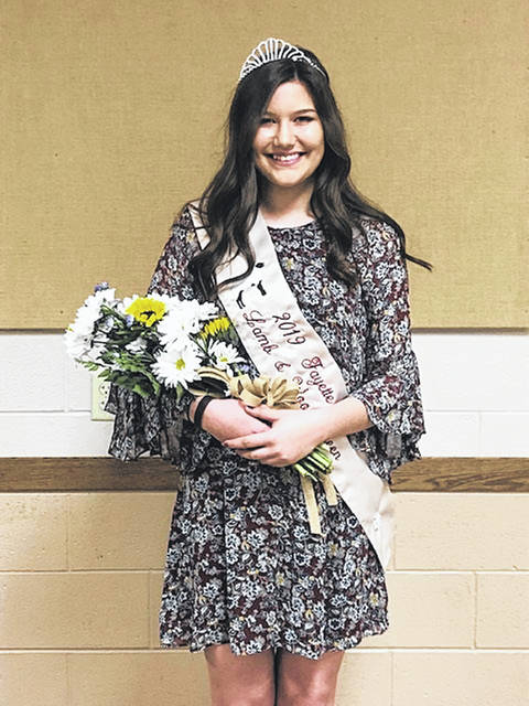 2019 Lamb and Wool Queen Tapanga Sanderson