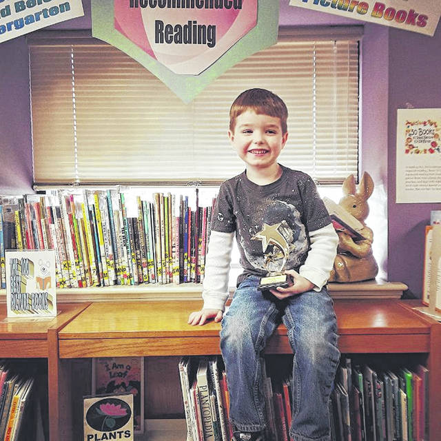 Vincent Berryhill is the latest 100 Book Club Member after reading all of the books on reading specialist Anita Silvey's list of the top 100 books to read to children. Carnegie Public Library is proud to salute Vincent and his family on this accomplishment.