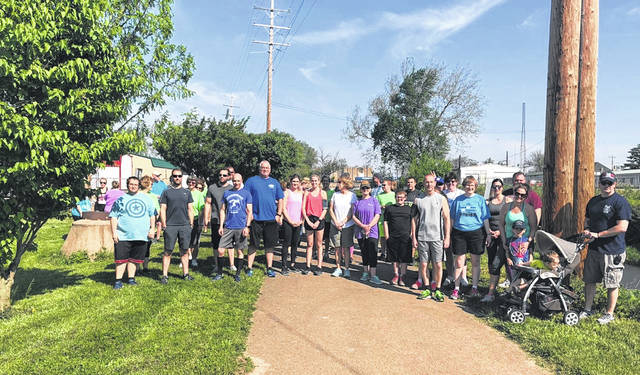 Participants prior to starting the Great Strides 5K Walk/Run in 2018.