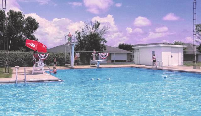 The pool in Jeffersonville is open and serving concessions—as the first week of the season draws to a close, kids from the neighborhood are taking advantage of what the facility has to offer. Daily admission is $5 with kids 2 and under getting in free.