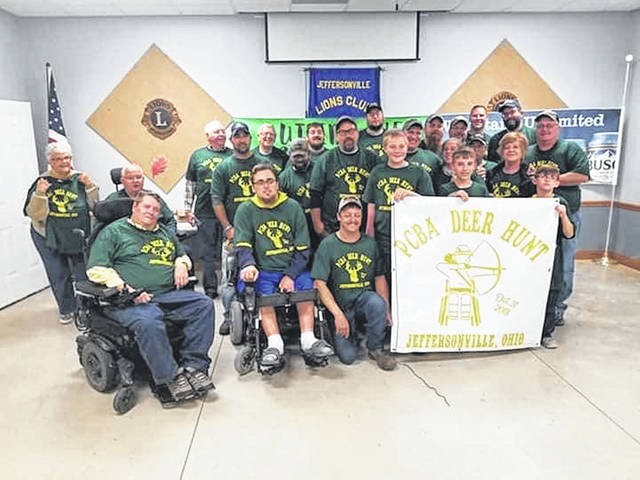 The Physically Challenged Bowhunters of America (PCBA) held a successful deer hunt late last year.