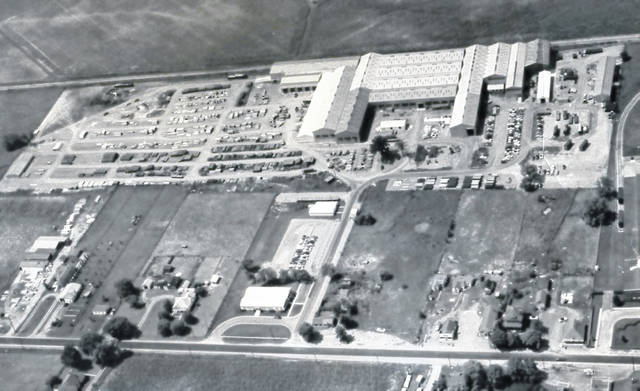 This photograph was taken in 1956 of the former Armco plant on Fayette Street.