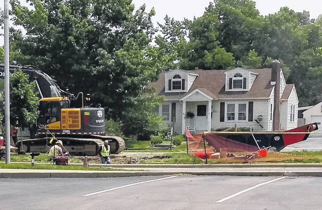 Construction on Washington Avenue will continue into the fall. The project consists of new sidewalks and gutters along with a new water main line, storm system and street. The street will be widened by two feet.