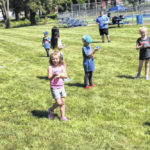 Blue Lions hold youth tennis camp